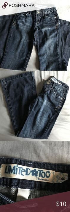 Limited Too Flare Jeans NWOT. Size 14S (slim) Limited Too Bottoms Jeans