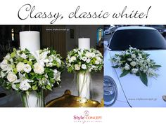 A #classic type of #wedding #decoration that we adore!