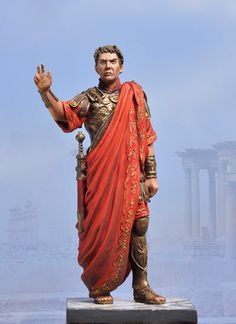 It's Sarek of Vulcan ... no wait  ... my bad, it's Caesar of Rome. LOL