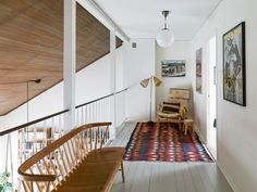 Fotograf: Krister Engström. 5 rum på Terrakottagatan 14 | Villa | Kvarteret Mäkleri i Göteborg Beautiful Interiors, Beautiful Homes, Interior Architecture, Interior Design, Entry Hallway, Compact Living, Future House, Decoration, Sweet Home