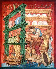Ateliéry tapisérií - cyklus Řemesla pro Paříž