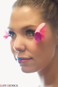 Kailyn Lowry from MTV's Teen Mom 2 Feather Eyelashes by the Cat's Meow Photography by Kate Hedrick