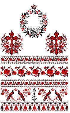 Свадебный рушник: вышиваем крестом приданное (схемы)
