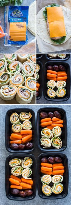 Turkey and Cheese Pinwheels (Meal-Prep Idea)You can find Lunch meal prep and more on our website.Turkey and Cheese Pinwheels (Meal-Prep Idea) Lunch Snacks, Clean Eating Snacks, Lunch Recipes, Healthy Eating, Cooking Recipes, Meal Prep Recipes, Cooking Corn, Cooking Steak, Cooking Turkey