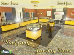 SimsFansHi guys! Let me introduce a new mesh – Jewelry Store – for Sims 4! | Sims 4 Updates -♦- Sims Finds & Sims Must Haves -♦- Free Sims Downloads