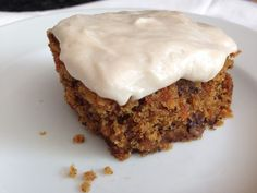 Carrot Cake - gluten free, soy free, vegan  I used the icing recipe for the zucchini-chocolate vegan cupcakes...awesome!