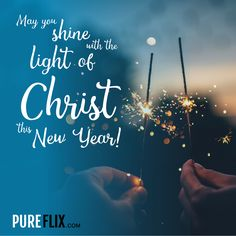 Thank you, Lord, for a new year and a new chance to grow closer to you. #HappyNewYear