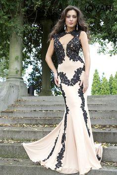 Jovani lace dress at Q Look Bridal now