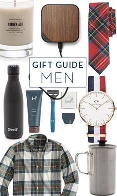 Holiday Gift Guide: Men