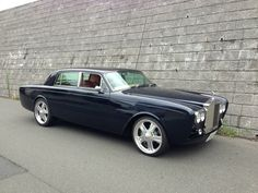 Here's an interesting customised 1975 Rolls-Royce Silver Shadow: Debumpered. Rolls Royce Silver Shadow, Automobile, Rolls Royce Cars, Engine Swap, Best Classic Cars, New Tricks, Custom Cars, Retro, Cars And Motorcycles
