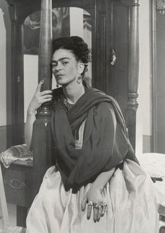 """I drank to drown my sorrows, but the damned things learned how to swim.""  ― Frida i was born a bitch. i was born a painter.""  ― Frida KahloKahlo________"