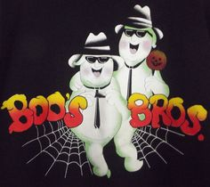 Sold!!  #Halloween Boo's Brothers #Ghost Sweatshirt #BluesBrothers Parody Men's Size Large