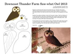 saw-whet-owl Many other patterns on this site and all are well done like this one.