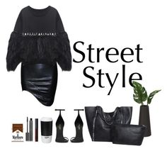 """""""street style"""" by alexandraleru on Polyvore featuring Yves Saint Laurent, ROOM COPENHAGEN, NARS Cosmetics and Burberry"""