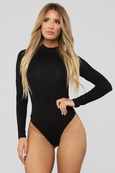 Available In Dark Grey, Black, White and WineMock NeckLong SleevesThong BottomSnap Closure Cotton SpandexFinal Sale Jolie Lingerie, Women Lingerie, Black Lingerie, Swimsuits For Curves, Women Swimsuits, Rompers Women, Jumpsuits For Women, Bodysuit Fashion, Curve Dresses