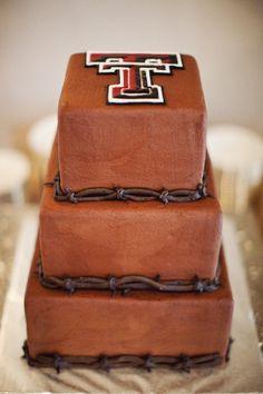 Texas Tech chocolate cake. My grooms cake was way better than this one!!! texas rangers, chocol cake, groom cake, cake art, chocolate cakes, gun, grooms, granburi cake, texa tech