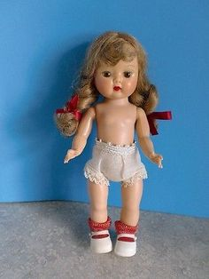 1955 - MUFFIE WALKER - Basic Doll with Soft Tosca Braids