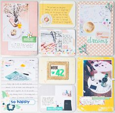#papercraft #scrapbook #layout.  PL week 42