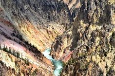 Yellowstone River Carving out the Canyon Photo by Juan Herrera -- National Geographic Your Shot