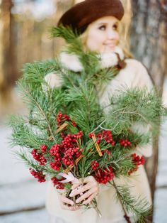 Christmas engagement shoot ideas during a Russian winter photographed by Olga Plakitina Photography. Christmas Tree Farm, Christmas Tree Themes, Christmas Villages, Noel Christmas, Christmas Traditions, Christmas Wreaths, Christmas Decor, French Country Christmas, Elegant Christmas