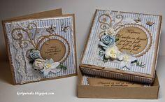 Eske med kort til konfirmanten Confirmation, Frame, Floral, Cards, Decor, Design, Photo Illustration, Decorating
