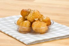 This Greek fried dough or Loukoumathes recipe dates all the way back to the original Olympic games where they were served to the victors. Greek Sweets, Greek Desserts, Greek Recipes, Just Desserts, Yummy Recipes, Greek Fries, Greek Cookies, Greek Pastries, Boston Food