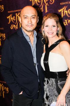 THE KING AND I stars Ken Watanabe and Kelli O'Hara on opening night