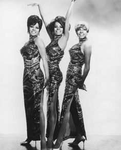 Diana Ross and the Supremes in the late 1960s (from left to right): Cindy Birdsong, Diana Ross, and Mary Wilson.