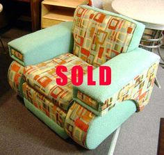 $1395.00  07.27.2016 -  1940's Channel Back Arm Chair