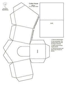 Plus de 1000 id es propos de pergamano sur pinterest for Maison en papier a construire