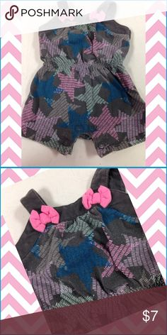 ⛔️ REDUCED ⛔️ Circo Romper Was $7. Now $5. Gray, blue and pink. Size NB. Circo One Pieces