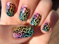 Resultado de imagen para nails leopard