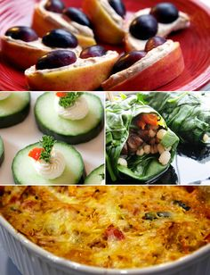 Ideas for swapping produce for carbs to save calories