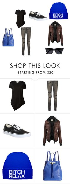 """""""Sister outfit"""" by defaultusername0921 ❤ liked on Polyvore featuring Balenciaga, R13, Vans, Olivia + Joy and River Island"""