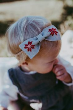 Ethnic Red Baby Bow Headband, Beautiful Red Bow Headband, Toddler Ethnic Bow Clip, Infant Holiday Headband, Country Baby Stoking Stuffers - All For Hairstyles Stretchy Headbands, Toddler Headbands, Headband Baby, Toddler Hair, Christmas Stocking Stuffers, Christmas Bows, Handmade Headbands, Girls Hair Accessories, Hand Embroidery Designs