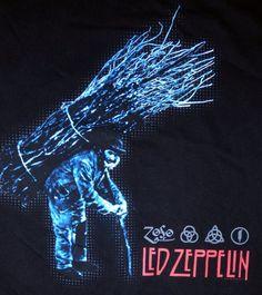 Vintage Rock Tees, Led Zeppelin Iv, Album Covers, Neon Signs, Shirts, Dress Shirts, Shirt