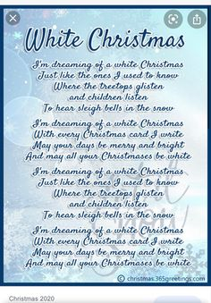 Christmas Card Verses, Christmas Carols Songs, Christmas Songs Lyrics, Christmas Sheet Music, Kids Christmas, Christmas Playlist, Christmas Traditions, White Christmas, Merry Christmas