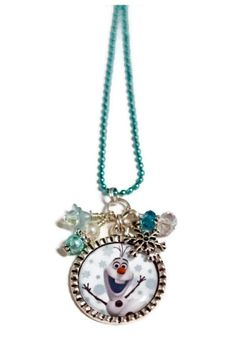 FROZEN'S OLAF Snowman NECKLACE by BeyondCuteBoutique on Etsy, $14.99