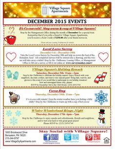 Marketing Office Jobs Newsletter Sample Christmas Door Decorating Contest Resident Retention