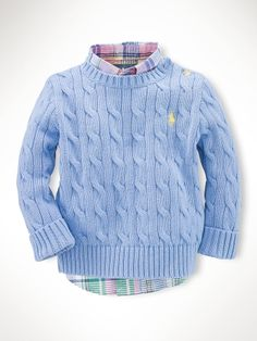 Classic Cable-Knit Sweater Price: $49.50   Sale Price: $37.13
