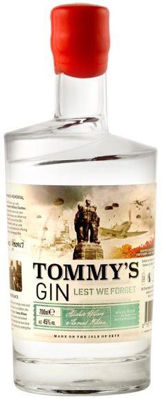 Tommy's Gin - Isle of Skye Distillers Does Wine Go Bad, Red Wine Benefits, Juniperus Communis, Scottish Gin, Gins Of The World, Gin Brands, Wine Auctions, Gin Bottles, In Vino Veritas