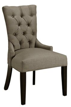Tufted-Back Dining Chair - Dining Chairs - Kitchen And Dining Room Furniture - Furniture | HomeDecorators.com