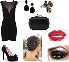 Little Black Dress, created by hiedi-johnson on Polyvore