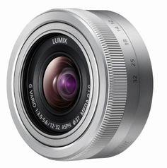 Panasonic 12 - 32 mm Lens for G-Series Camera (MEGA O.I.S Image Stabiliser, 2 Aspherical Lenses)