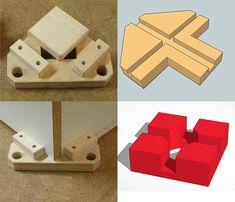 Corner clamping jigs