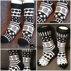 Marimekon inspiroimaa Sock Toys, Cool Socks, Awesome Socks, Marimekko, Knit Crochet, Knitting, Handmade, Yandex, Decor