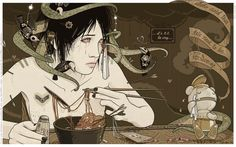Desamor ilustrado Chiara Bautista, MILK, http://www.myspace.com/logyu