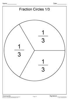 fraction circles   worksheets    fraction circles worksheet halves  by
