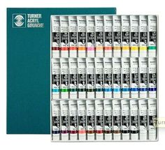 I need to reward myself with this one day.Beautiful Turner Acryl Gouache Set of 36 Gouache Painting, Painting Tips, Discount Art Supplies, Acrylic Paint Set, Paint Brands, Smart Art, Marker Art, Amazon Art, Ballpoint Pen