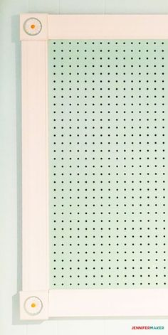 Large Framed Pegboard to Organize Your Craft Room - Jennifer Maker Pegboard Craft Room, Ikea Craft Room, Cricut Craft Room, Sewing Room Organization, Craft Room Storage, Ladder Storage, Pegboard Storage, Studio Organization, Organizing Tips
